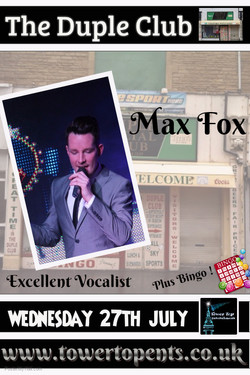 Max Fox 27th July
