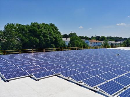 Solar Commerical Job