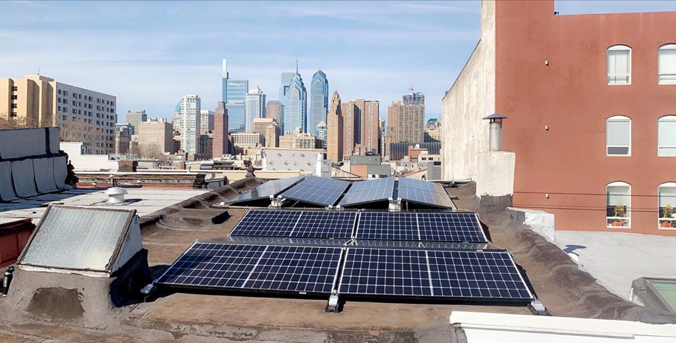 Philly Solar Panel Installation