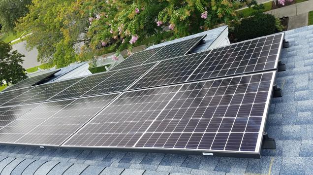 Solar Suburb Home 2