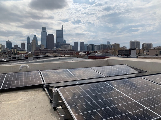 Philly Rowhome Flat Roof