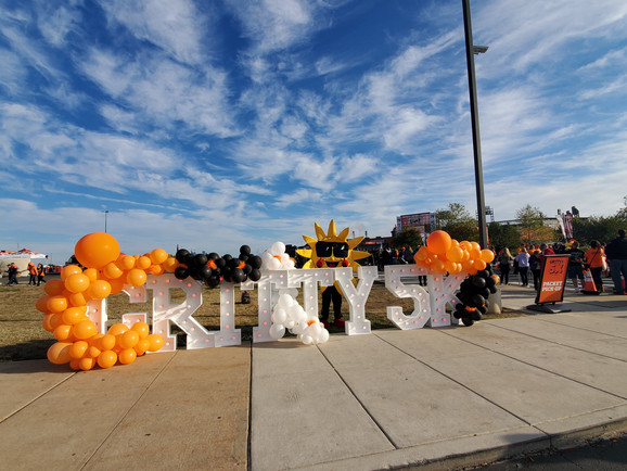 Sunny at Gritty 5k