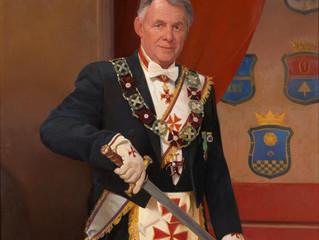Avduking av OSM T. Evensens portrett
