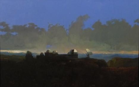 """""""Observatorium"""", olje på lerret"""