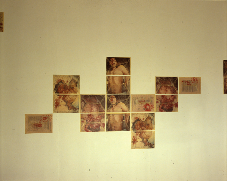 Envelope: This Is My Body (Installation view)