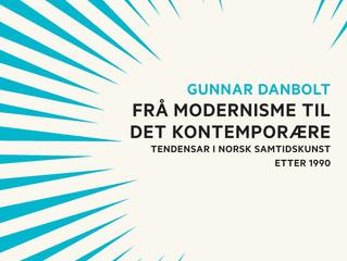 Nestor i norsk kunsthistorie, Gunnar Danbolt ute med ny bok!