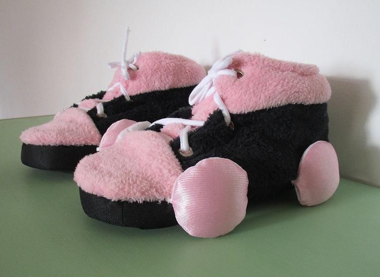 Pantupatines Rosa - Negro