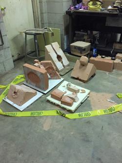 Mold making process