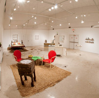 Installation View from the Living Room