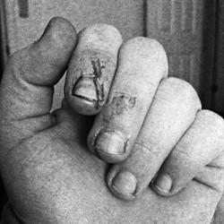 fiberglass hand