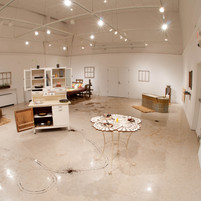 Installation View from the Kitchen