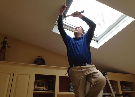 skylight, skylight installation, roofing, repai