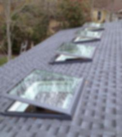 skylight, sunlight, natural light, roofing