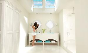 skylight installation bathroom