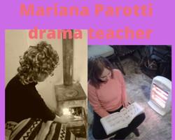 Mariana Parotti drama teacher