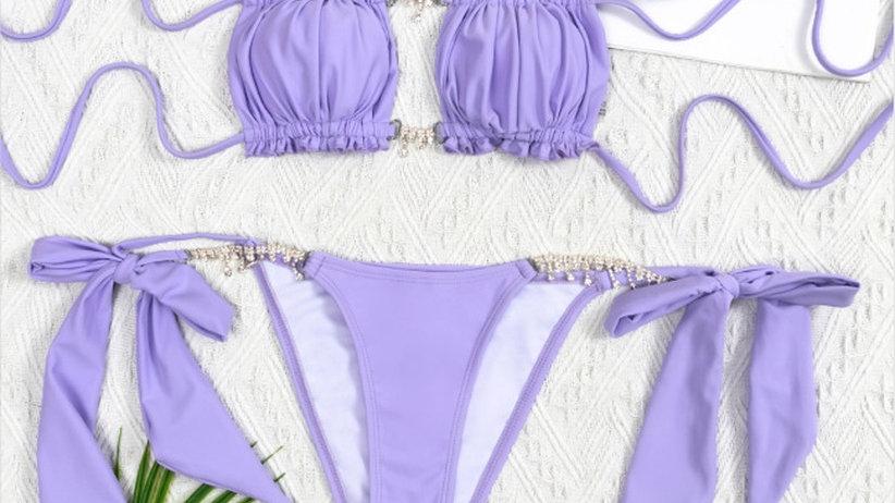 Purple Jewel Swimsuit-Stock