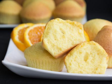 Muffins de Naranja Natural