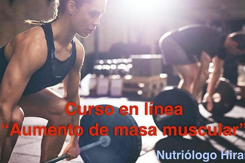 Curso Aumento de masa muscular