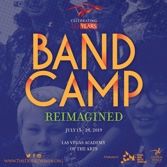 Band Camp Reimagined Poster 2019 Instagr