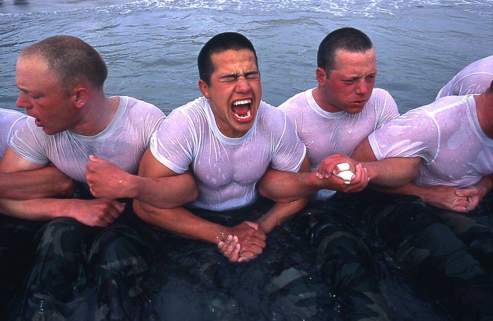 Navy Seals Working as a Team