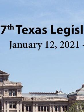 The 87th Legislative Session