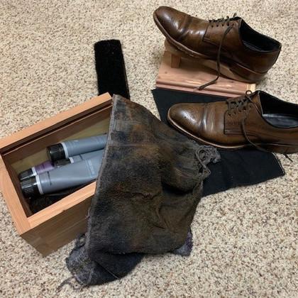 My Father's Shoe Shine Rag