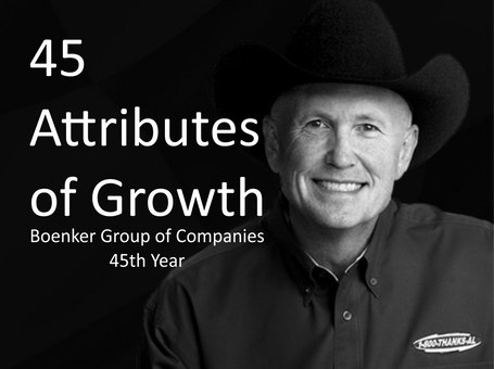 45 Attributes of Growth