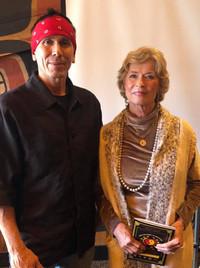 Snake Blocker and Linda Lee Cadwell