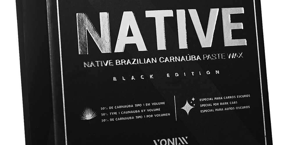 Native Paste Wax – Black Edition 100g Vonixx