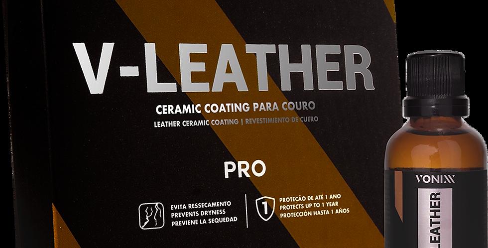 V-Leather Vitrificador de couro 50ml Vonixx