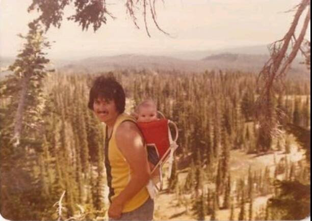My Dad Tom Swan and I 1977