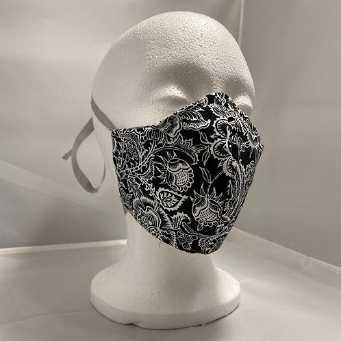 Black and White Skull Mask