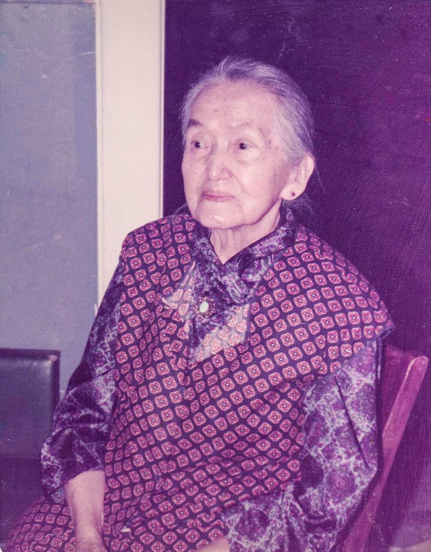 My Great Grandma Alma Olney Fiander 1980