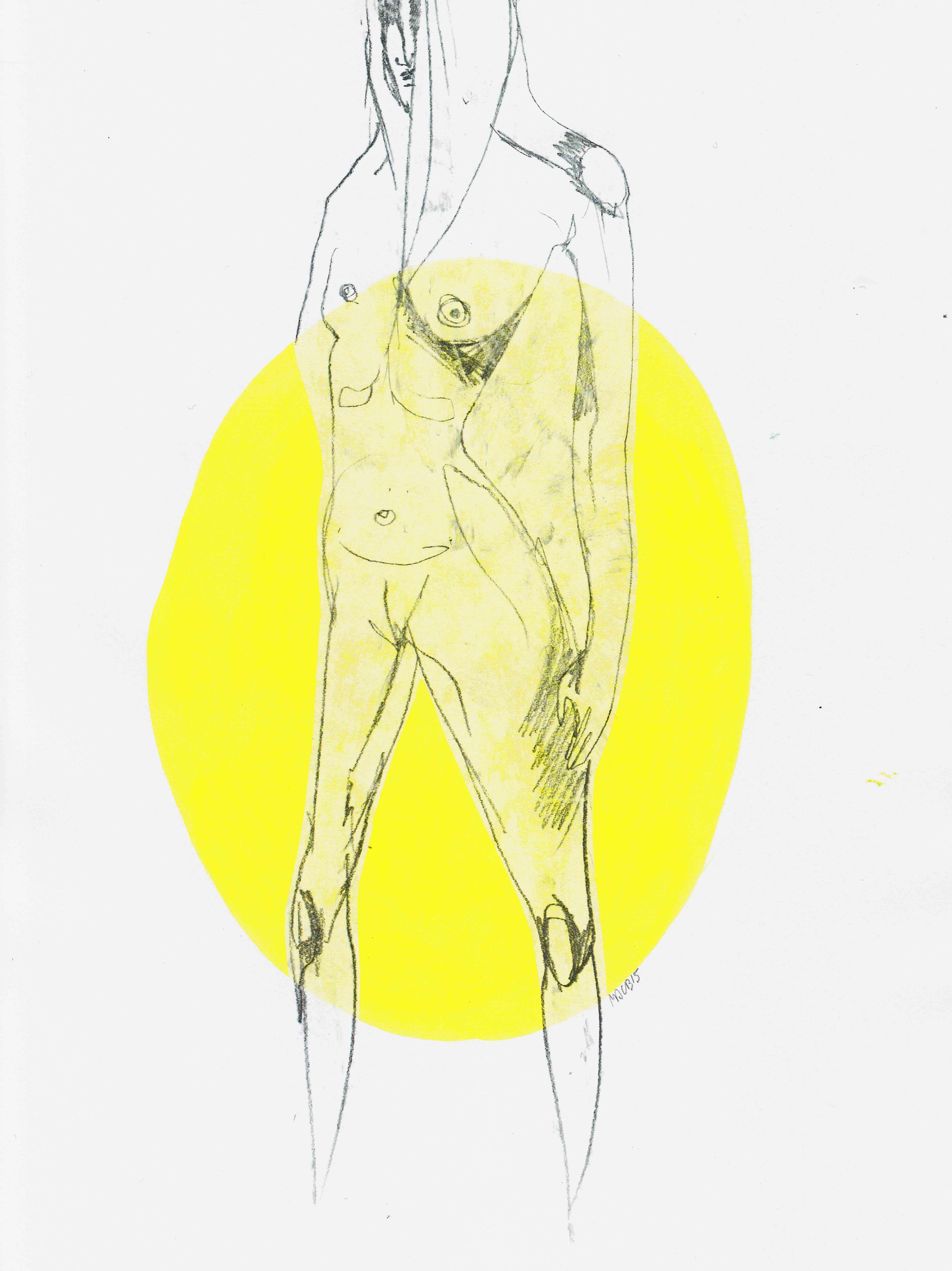 Yellow Nude