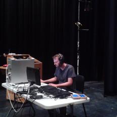 Recording session at UC Santa Barbara, 2017