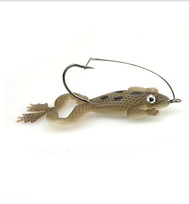 4pcs frog lures soft baits 5g 60mm sea fishing/freshwater fishing, Reel Combo