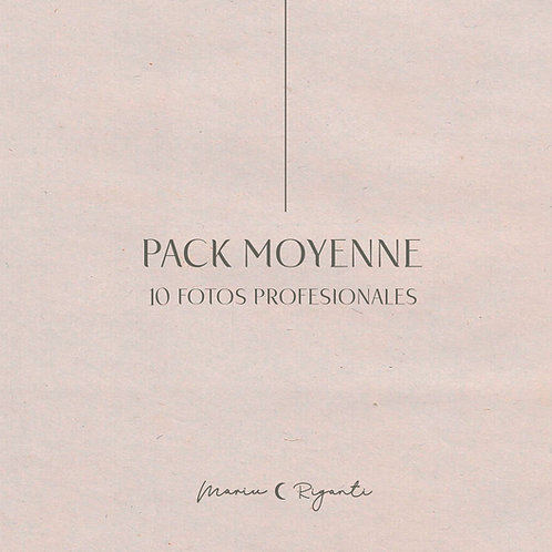 Pack Moyenne  . 10 fotos