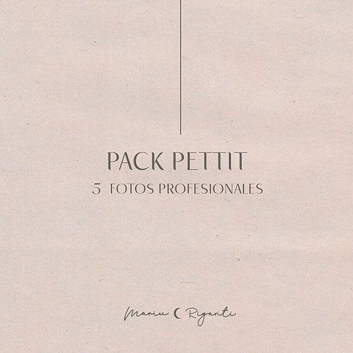 Pack Pettit  .  5 fotos