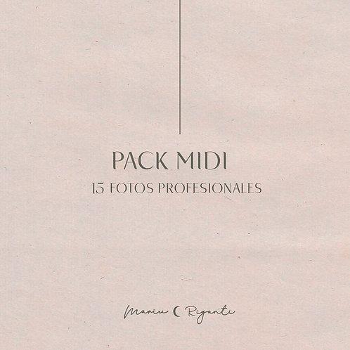 Pack Midi  .  15 fotos
