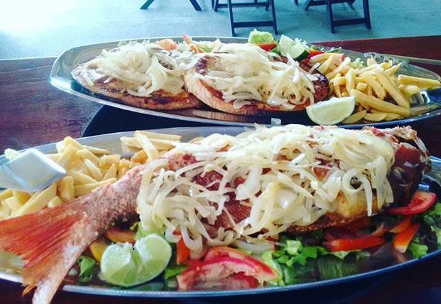 Cioba inteira ou Meca em Posta ____ So nao pode faltar o super Pirao do Lolla's Lounge Bar e Restaur