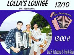 Olá pessoal o Trio Pessoense irá animar o feriadão com Muito Pé de Serra a partir das 13_00 no Lolla