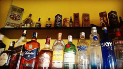 Destilados  variados Nacionais e Impostados no Lollas Lounge Bar