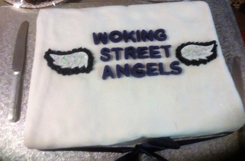Cake for the new Street Angels made by Molly Loudon