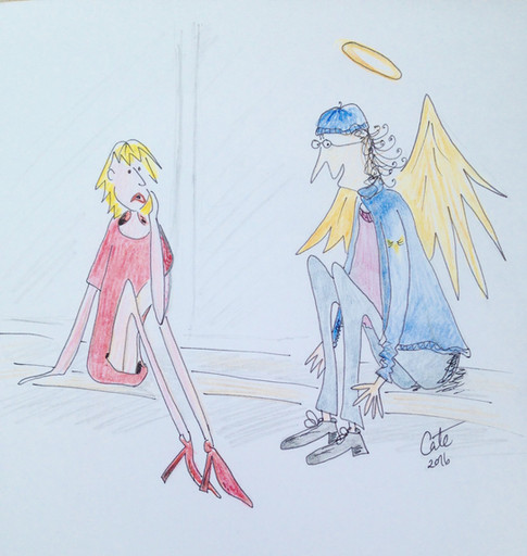 Street Angels illustration by Cate Field