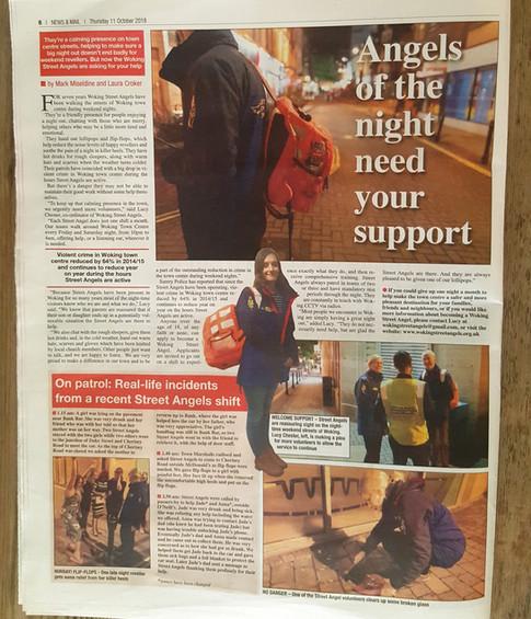 Street Angels in Woking News & Mail
