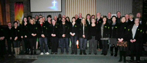 2011 - commissioning the original team of volunteers