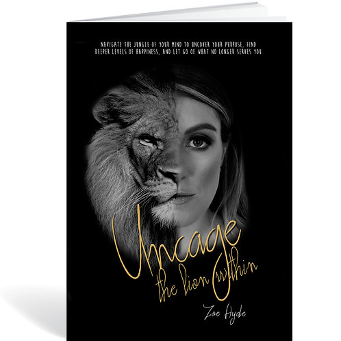 """Uncage the Lion Within"" - BOOK"