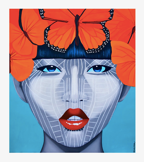 'Tapong Chin' Limited Edition Lithograph