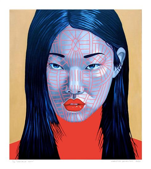 'Sakale Chin' Limited Edition Lithograph