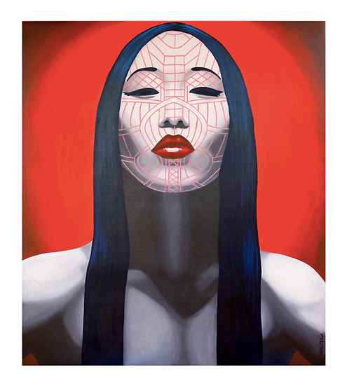 'Asho Chin' Limited Edition Lithograph